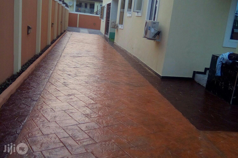 Increte Decorative Stamped Concrete Floor In Nigeria