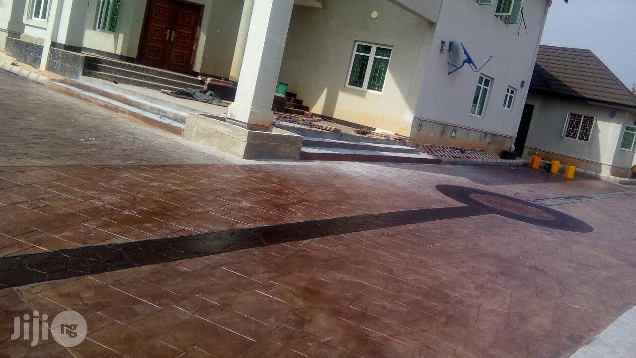 Increte Decorative Stamped Concrete Floor In Nigeria   Building & Trades Services for sale in Lekki, Lagos State, Nigeria