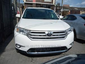 Toyota Highlander 2012 White   Cars for sale in Lagos State, Surulere
