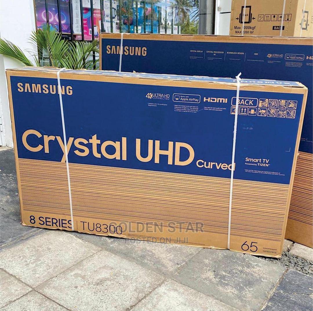 Original Samsung 65'' Crystal UHD Curved 4K TV Netflix App