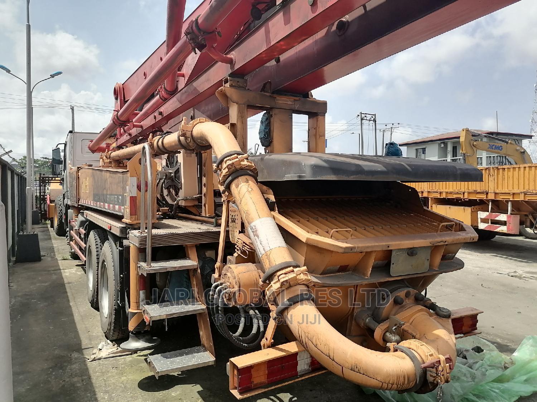 37 Tons Concrete Mixer Pumps
