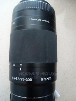Sony Lens 75-300mm | Accessories & Supplies for Electronics for sale in Lagos State, Ikeja