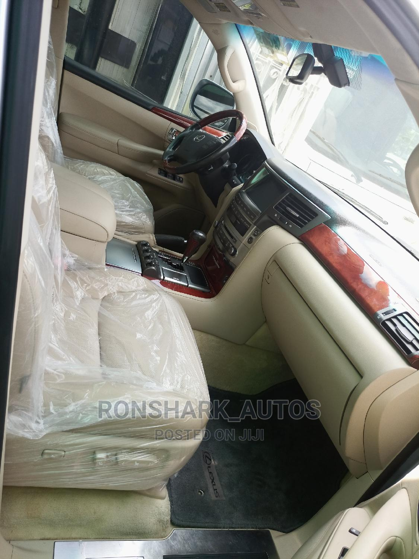 Archive: Lexus LX 2008 570 Silver
