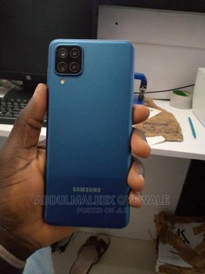 Samsung Galaxy A12 128 GB Blue   Mobile Phones for sale in Lagos State, Ikoyi