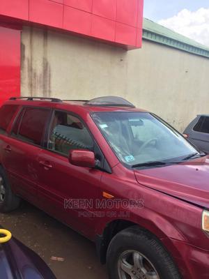 Honda Pilot 2007 LX 4x4 (3.5L 6cyl 5A) Red   Cars for sale in Ogun State, Ado-Odo/Ota