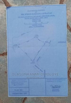 At Omolayo Estate Behind Mabest School Oke-Ijebu | Land & Plots For Sale for sale in Ondo State, Akure