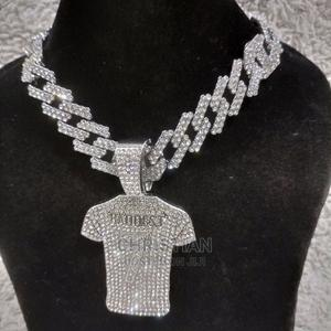 Cuban Chain Necklaces With Pendant | Jewelry for sale in Lagos State, Surulere
