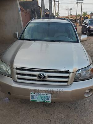 Toyota Highlander 2006 Gold | Cars for sale in Lagos State, Ikeja