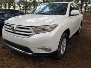 Toyota Highlander 2012 SE White   Cars for sale in Lagos State, Magodo