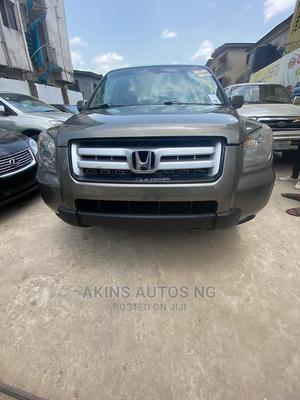 Honda Pilot 2007 EX-L 4x4 (3.5L 6cyl 5A) Gray   Cars for sale in Lagos State, Ogba