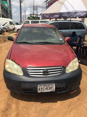 Toyota Corolla 2003 Sedan Red | Cars for sale in Lagos State, Oshodi