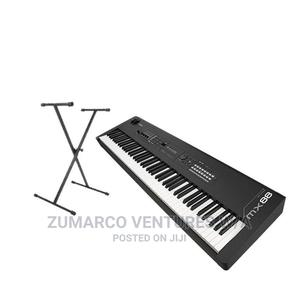 Yamaha Mx88 Yamaha Keyboard With Stand | Musical Instruments & Gear for sale in Lagos State, Ojo