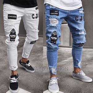 Men's Ripped Hole Jeans   Clothing for sale in Lagos State, Ogba