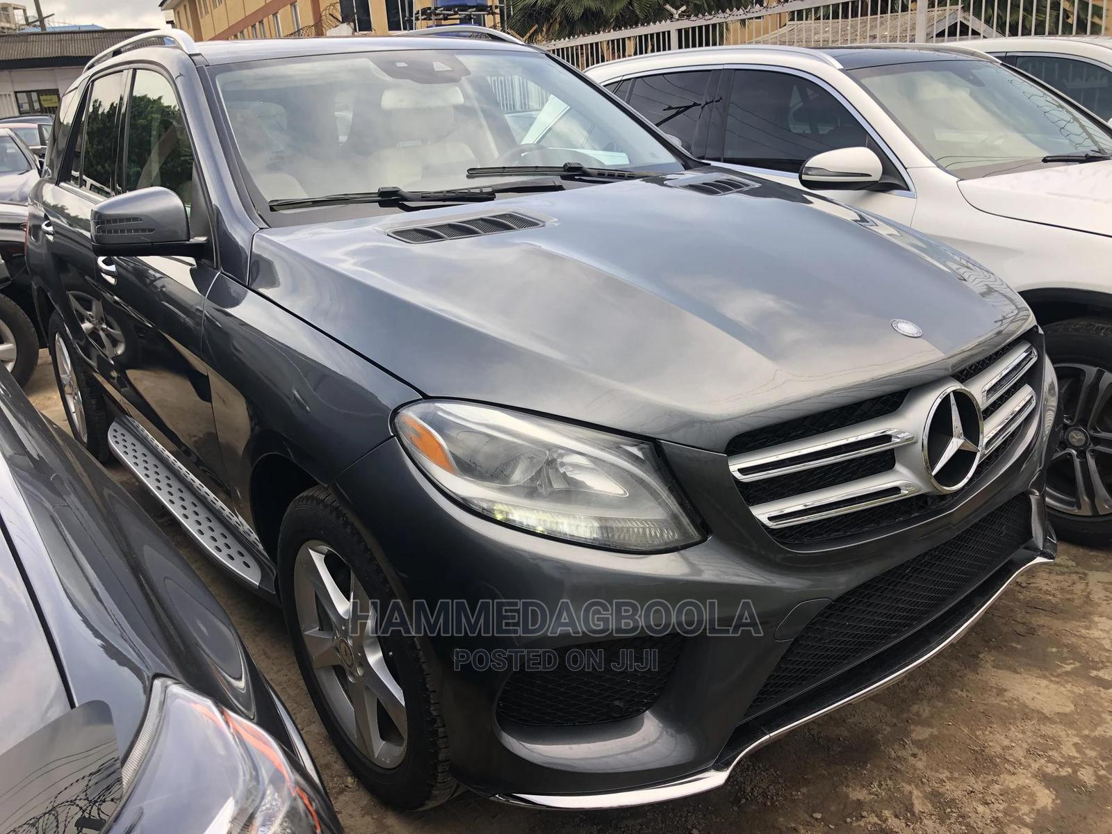 Mercedes-Benz GLE-Class 2017 Gray   Cars for sale in Ikeja, Lagos State, Nigeria