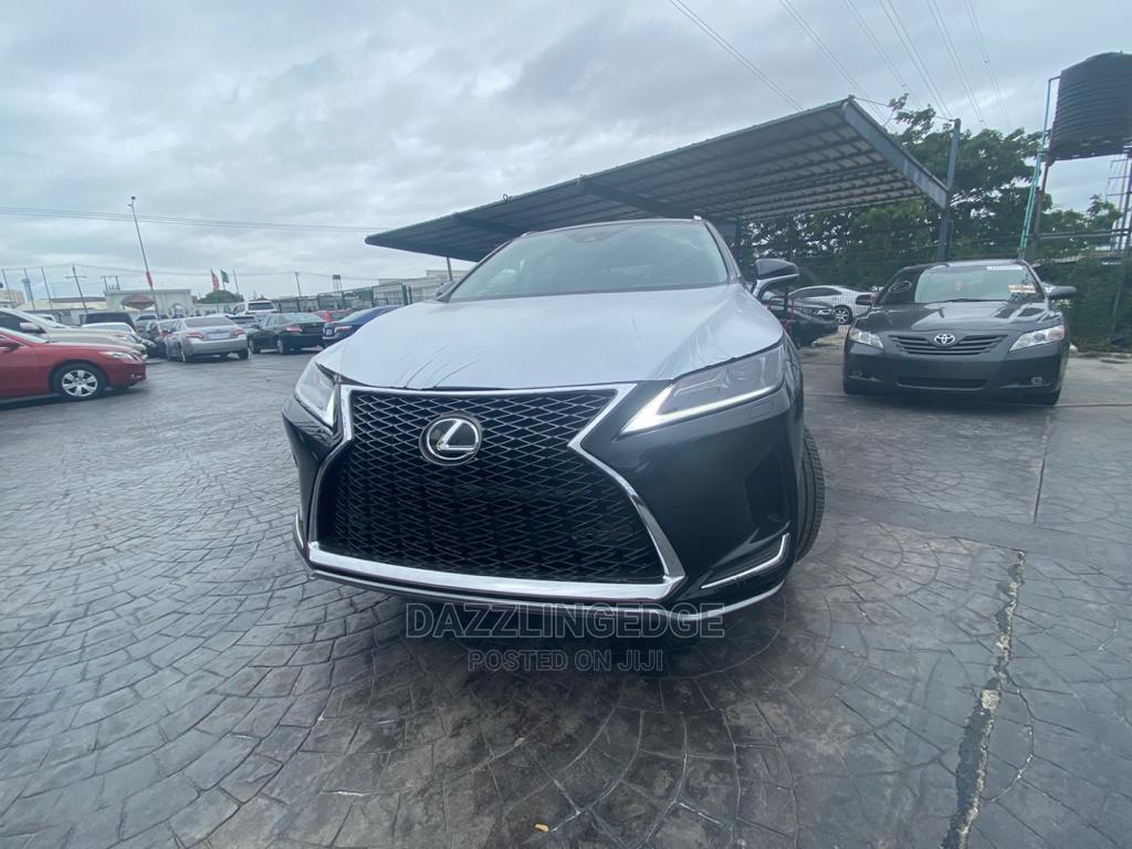 New Lexus RX 2020 Black