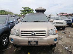 Toyota Highlander 2005 Gold   Cars for sale in Lagos State, Apapa