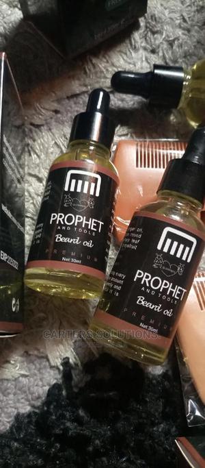 Prophet Men Beard Oil (Poil4)   Hair Beauty for sale in Lagos State, Ipaja