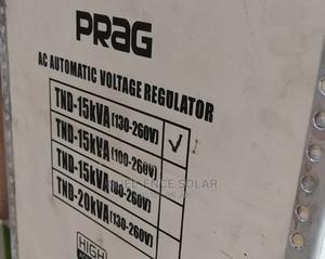 15kva Prag Industrial Stabilizer Standing. | Electrical Equipment for sale in Lagos State, Ojo