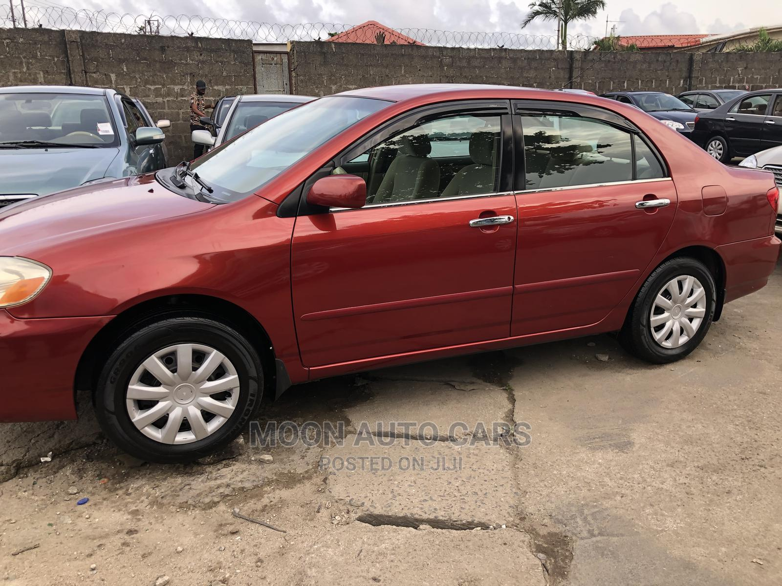 Toyota Corolla 2007 Red | Cars for sale in Amuwo-Odofin, Lagos State, Nigeria