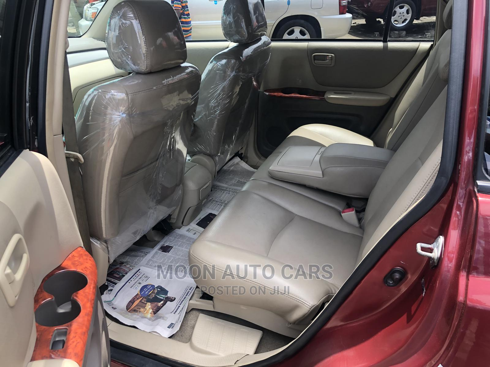 Toyota Highlander 2006 Red | Cars for sale in Amuwo-Odofin, Lagos State, Nigeria