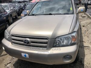 Toyota Highlander 2006 Gold | Cars for sale in Lagos State, Amuwo-Odofin