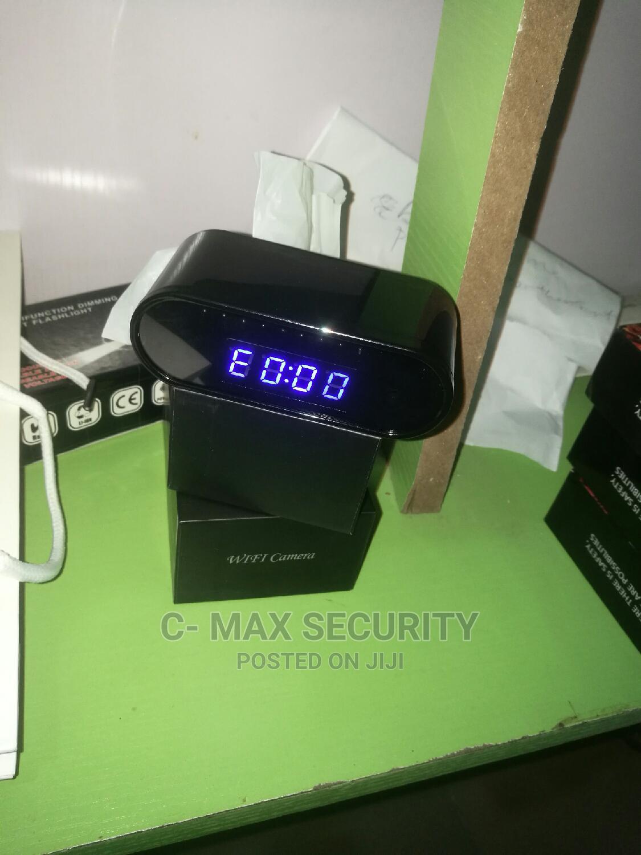 Spy Wifi Clock Camera 1080