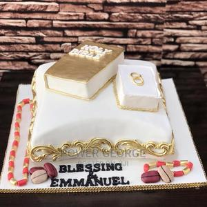 Simple Traditional Wedding Cakes in Benin    Party, Catering & Event Services for sale in Edo State, Benin City