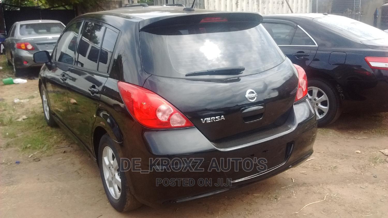 Nissan Versa 2010 1.8 SL Hatchback Black | Cars for sale in Ikeja, Lagos State, Nigeria