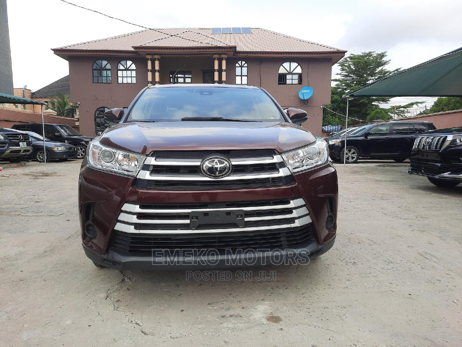 Toyota Highlander 2019 LE Plus Red | Cars for sale in Amuwo-Odofin, Lagos State, Nigeria