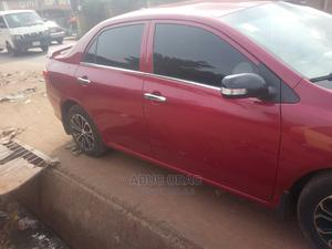 Toyota Corolla 2009 1.4 Advanced Red   Cars for sale in Anambra State, Onitsha