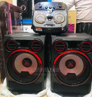 Powerful Bass LG CK99 Xboom (5000W) Bluetooth Sound System | Audio & Music Equipment for sale in Lagos State, Ojo