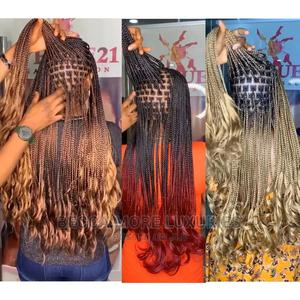 French Curls Braiding Hair/ Premium Fiber Braiding Hair   Hair Beauty for sale in Rivers State, Port-Harcourt