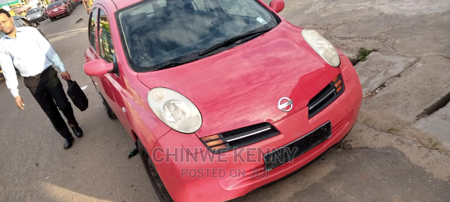 Archive: Nissan Micra 2003 Red