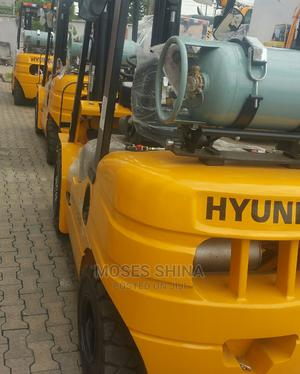 Brand New Hyunday 3ton Gas Forklift for Sale   Heavy Equipment for sale in Lagos State, Ikeja
