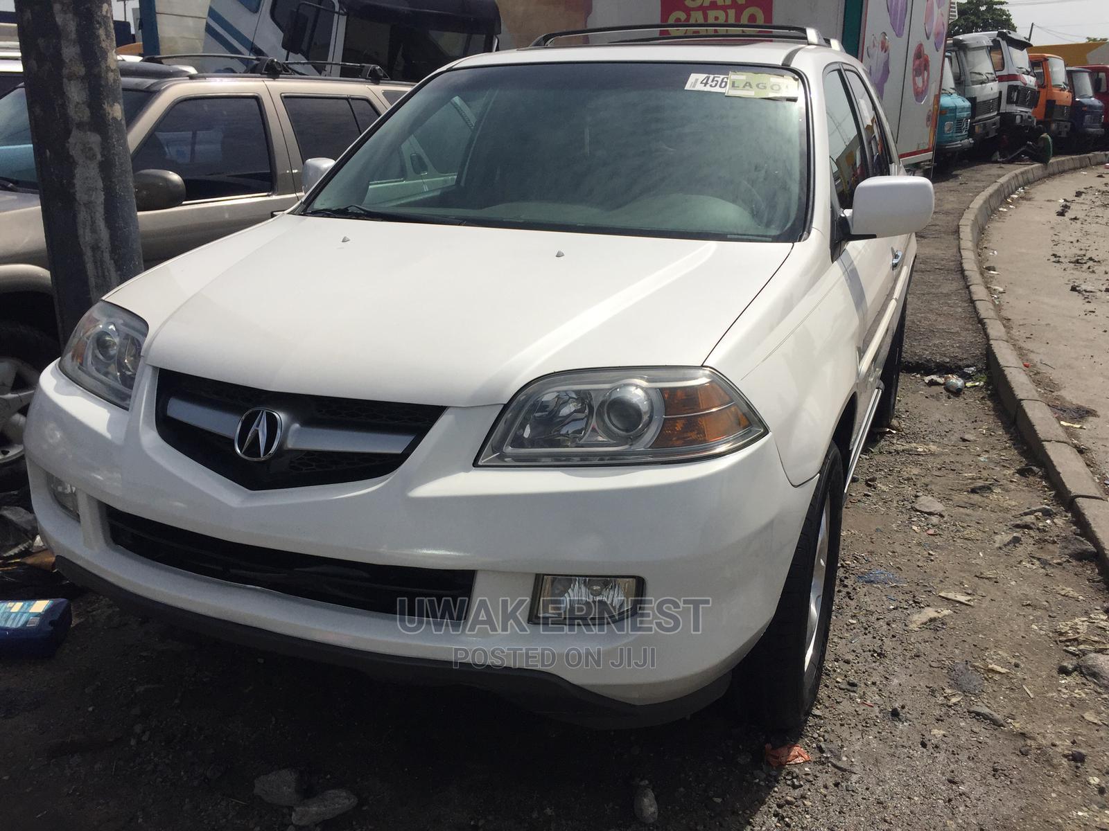 Acura MDX 2005 White | Cars for sale in Amuwo-Odofin, Lagos State, Nigeria