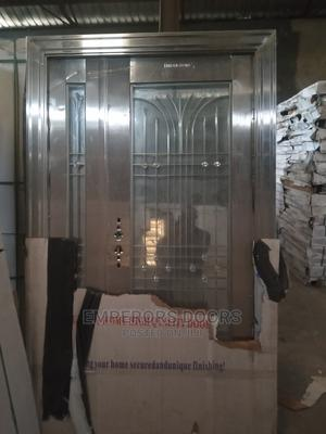 Stainless Glass Door | Doors for sale in Abuja (FCT) State, Dei-Dei