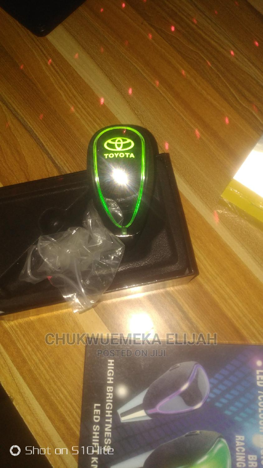 Led Shift Knob 7 Colors | Vehicle Parts & Accessories for sale in Nnewi, Anambra State, Nigeria