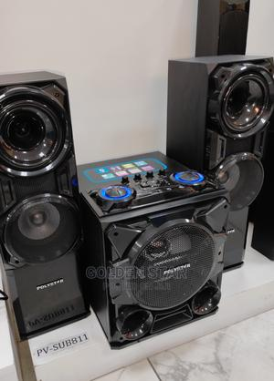 Brand New Polystar 2500w Powerful Bass Sound With Bluetooth | Audio & Music Equipment for sale in Lagos State, Ojo