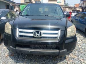 Honda Pilot 2008 EX 4x4 (3.5L 6cyl 5A) Black   Cars for sale in Lagos State, Oshodi