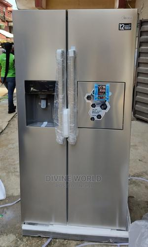 Midea 502L Side by Side Fridge With Water Ice Maker HC657W | Kitchen Appliances for sale in Lagos State, Lekki