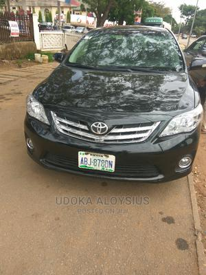 Toyota Corolla 2012 Black   Cars for sale in Abuja (FCT) State, Garki 1