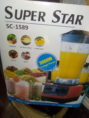 High Quality Superstar Commercial Heavy Duty Blender | Kitchen Appliances for sale in Lagos State, Lagos Island (Eko)