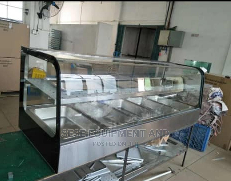 Archive: Bain Marine Curved Glass 2steps 5plates