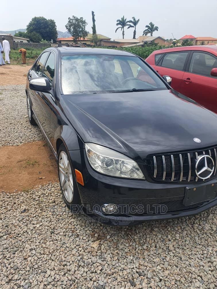 Mercedes-Benz C300 2008 Black | Cars for sale in Kubwa, Abuja (FCT) State, Nigeria