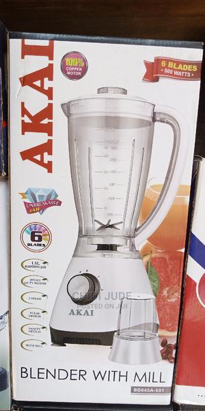 Quality Akai Commercial Heavy Duty Blender | Kitchen Appliances for sale in Lagos State, Lagos Island (Eko)