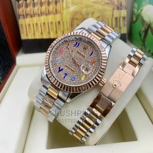 "Rolex Unisex ""Diamond Face  "" Combo   Watches for sale in Lagos State, Lagos Island (Eko)"
