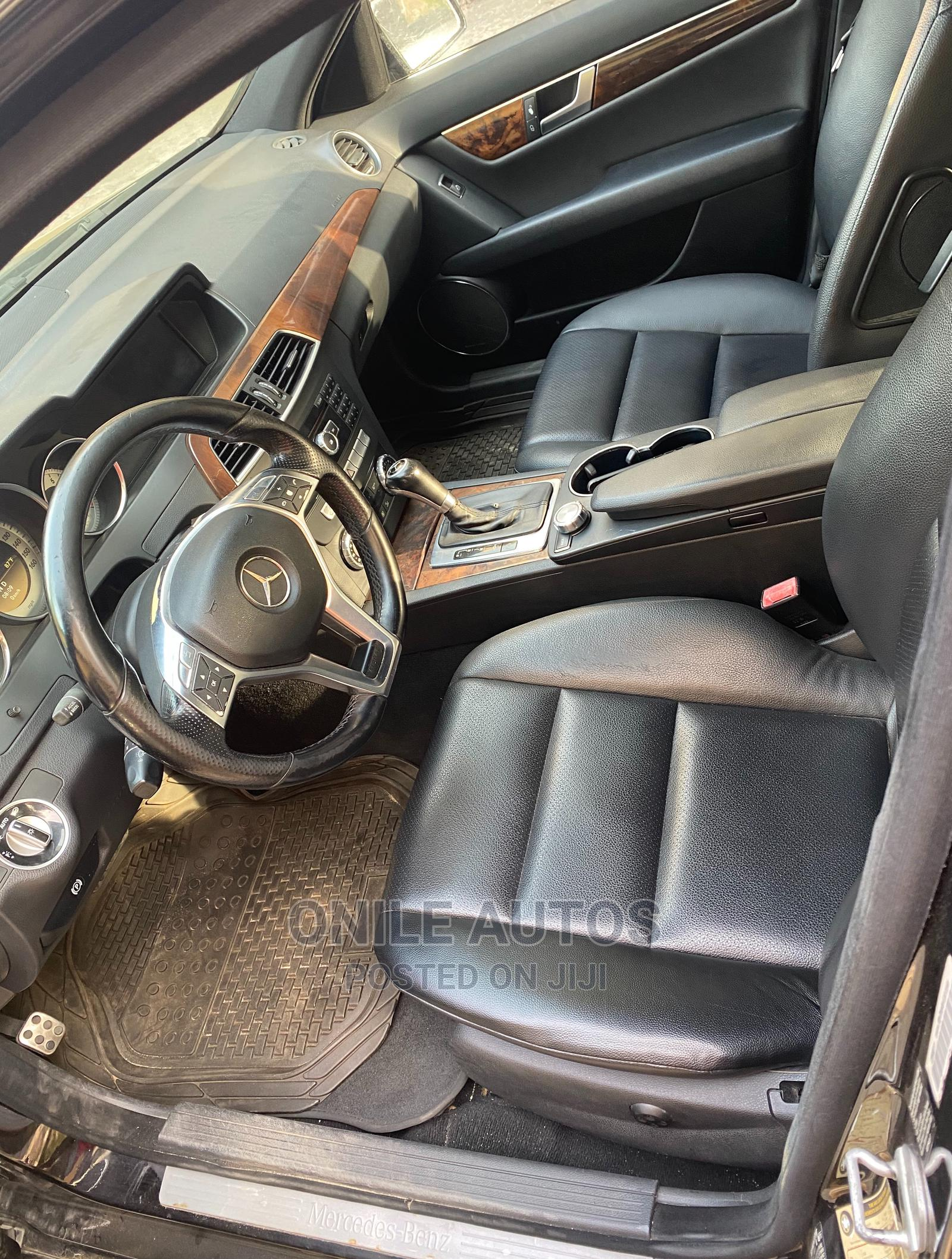 Mercedes-Benz C300 2012 Black   Cars for sale in Ikeja, Lagos State, Nigeria