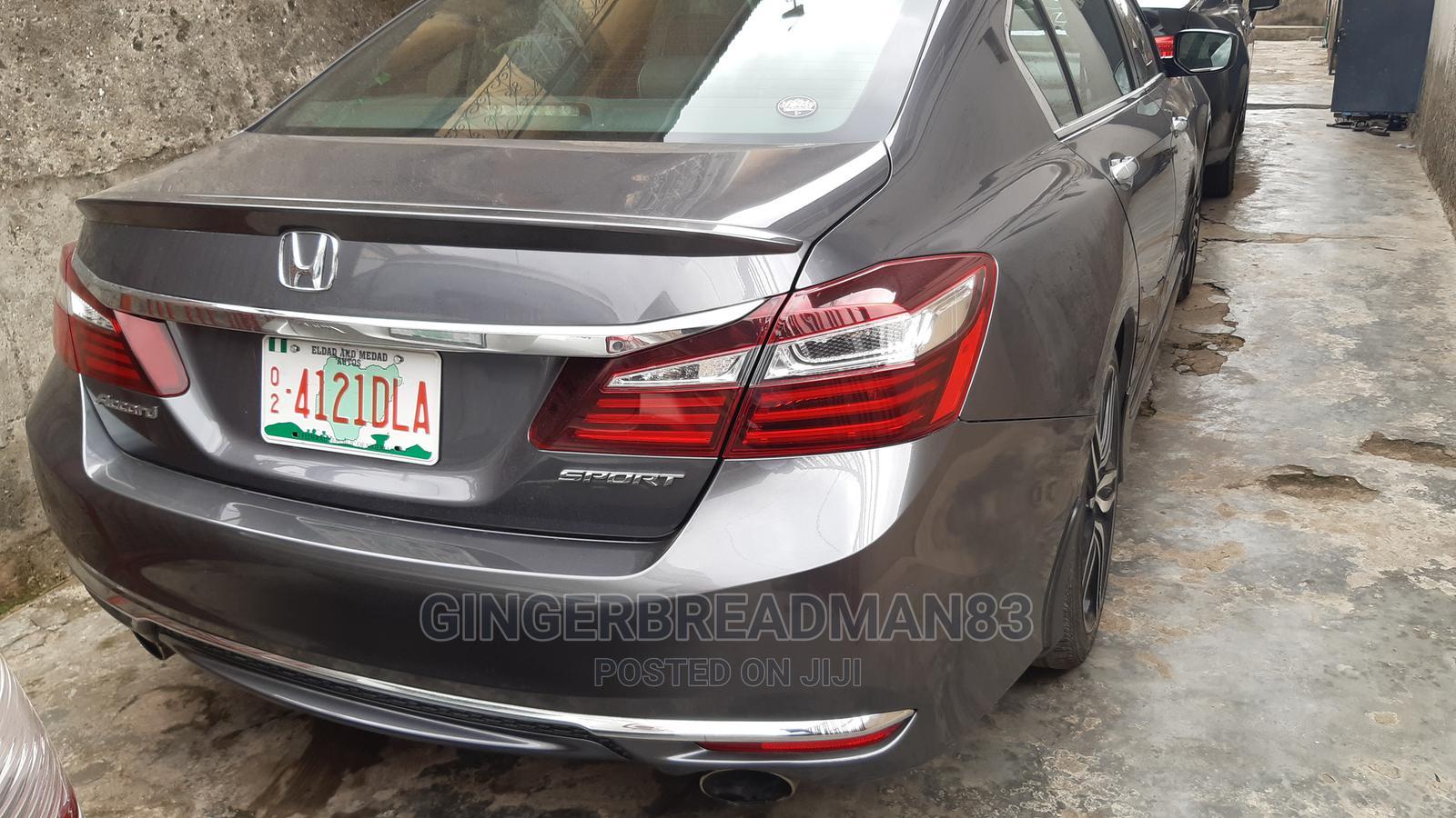 Honda Accord 2017 Gray   Cars for sale in Yaba, Lagos State, Nigeria