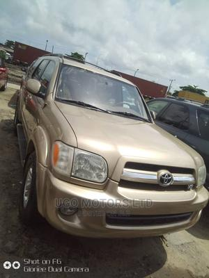 Toyota Sequoia 2006 Gold | Cars for sale in Lagos State, Apapa