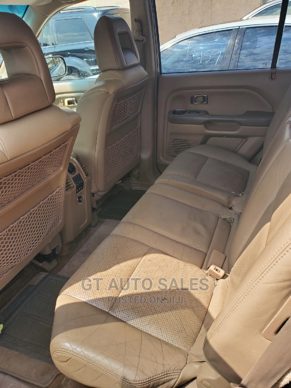 Honda Pilot 2004 EX 4x4 (3.5L 6cyl 5A) Gold | Cars for sale in Ikeja, Lagos State, Nigeria